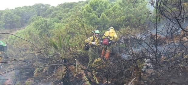 Incendio forestal benahavís málaga 20 agosto 2017 fuego infoca