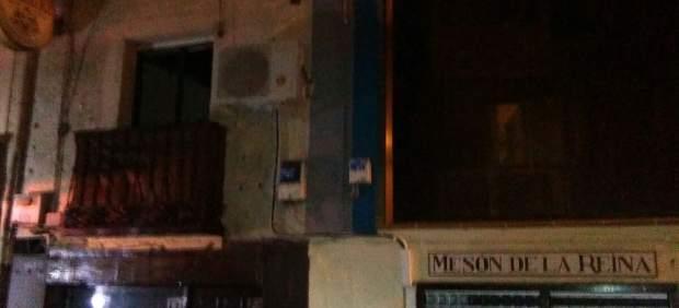 Ávila.- Imagen del edificio afectado