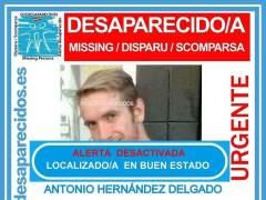 Un hombre se pone en contacto con su familia tras un mes desparecido