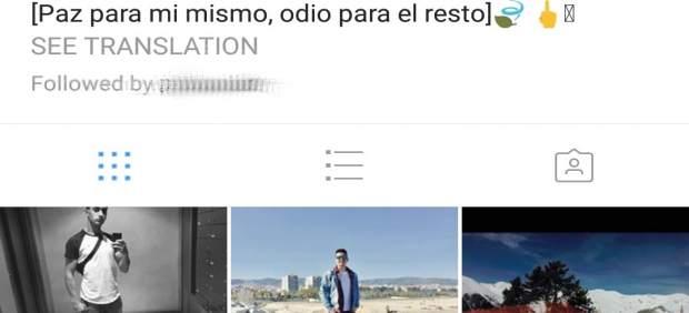 Perfil de Houssaine Abouyaaqoub (Houssa) en Instagram