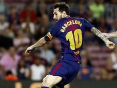 Messi enseña el camino de un Barça que vuelve a sonreír