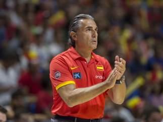 El seleccionador español de baloncesto, Sergio Scariolo
