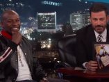 Floyd Mayweather con Jimmy Kimmel