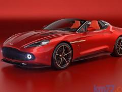 Aston Martin Vanquish Zagato, 325 unidades de lujo