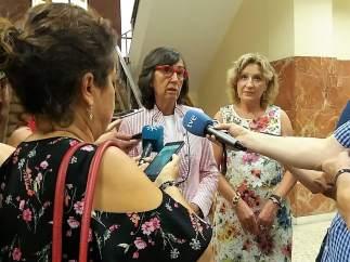 La consejera de Justicia e Interior y la presidenta de la Audiencia de Almería