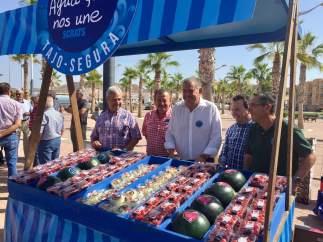 Regantes de Almería, Alicante y Murcia reclaman trasvases para sus cultivos