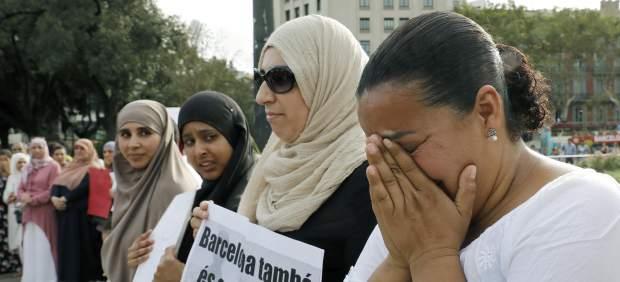 Manifestación musulmana