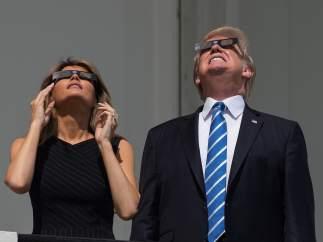 Los Trump, 'eclipsados'