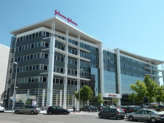 Sede de la oficina de Johnson and Johnson en Madrid