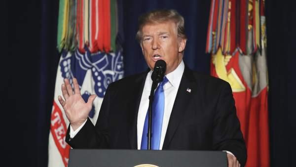 Trump reforzará el número de militares en Afganistán