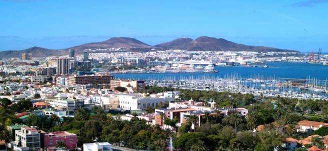 Parnorámica de Las Palmas de Gran Canaria