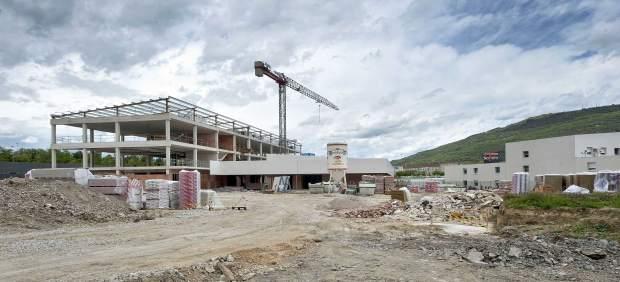 Imagen del colegio Buztintxuri captada el pasado 12 de mayo.