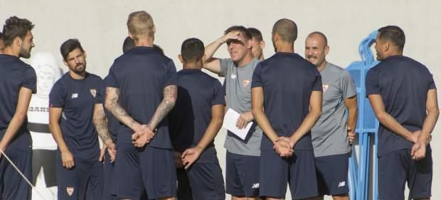 El Sevilla se encomienda al Pizjuán para asegurar su presencia en la Champions