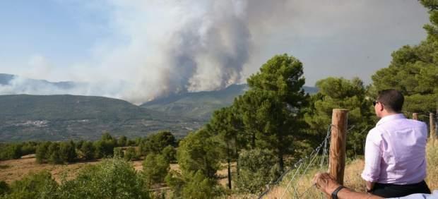 Incendio de Yeste