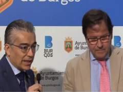 Roberto Sáiz y Salvador de Foronda (de izquierda a derecha)