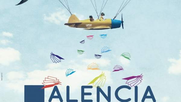 Cartel de la Feria del Libro de Palencia.