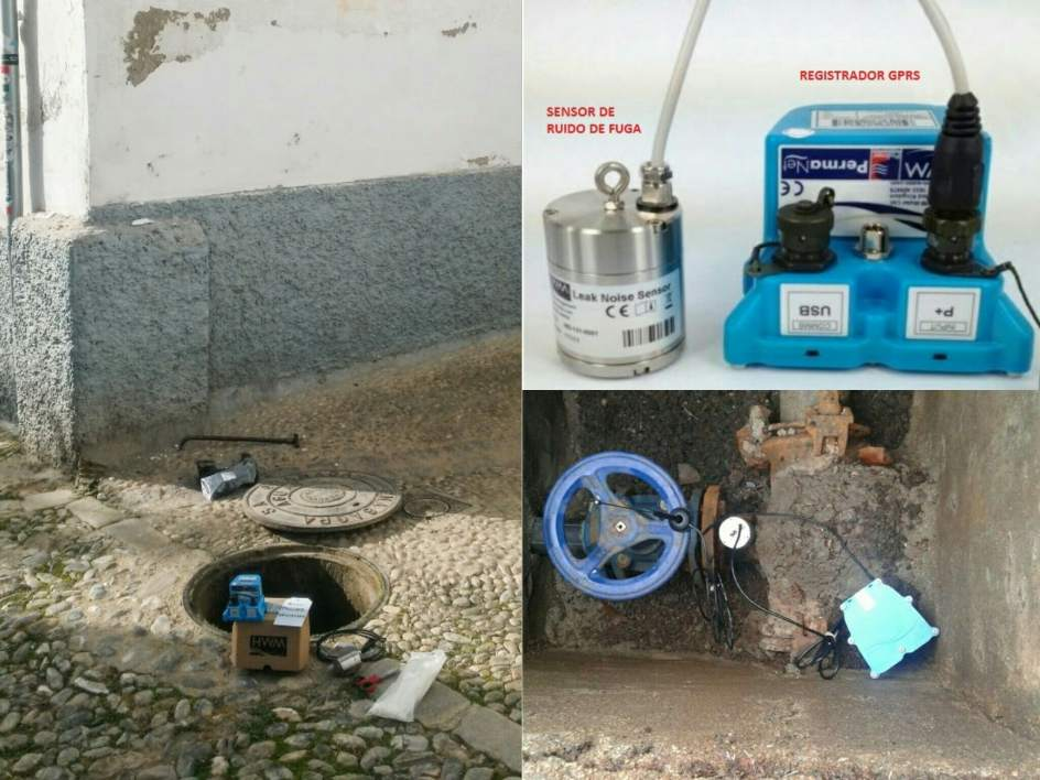 Emasagra comienza la instalaci n de sensores de detecci n for Fugas de agua madrid