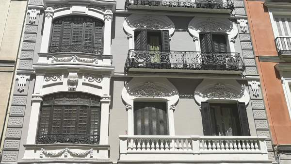 Edificio futuras oficinas Honorio Aguilar en Madrid.