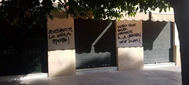 Pintadas en la sede de la Fundación Mezquita de Sevilla
