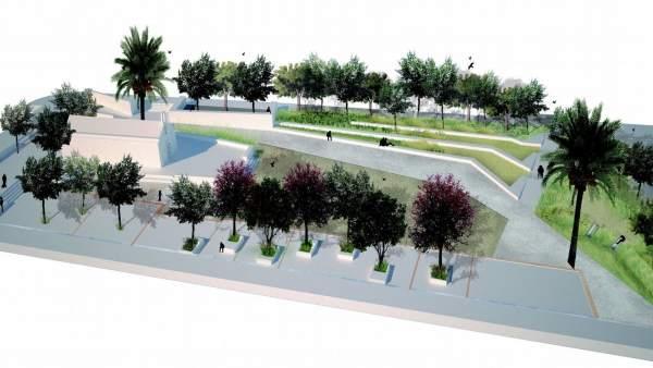 Proyecto del jardín de la ermita de Orriols