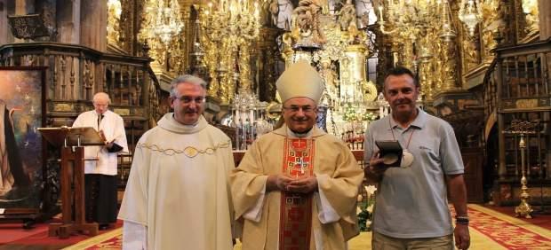 La Catedral de Santiago acoge a su peregrino 200.000 de 2017