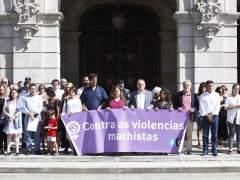 Concentración de repulsa por el asesinato Culleredo