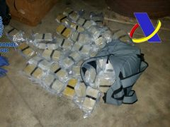 La Policía incauta 65 kilos de heroína en Pontevedra