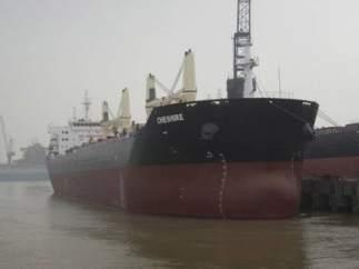 El buque Chesire