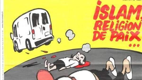 Polémica por la portada y las viñetas de 'Charlie Hebdo' sobre los atentados de Barcelona
