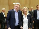 Boris Becker y Barbara Rittner