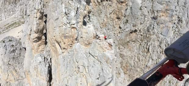 Auxilio a escaladores madrileños