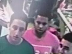 Una cámara grabó a los terroristas antes de atacar