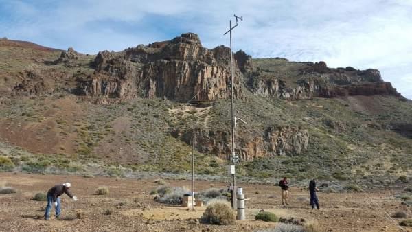Estación en el Parque Nacional del Teide