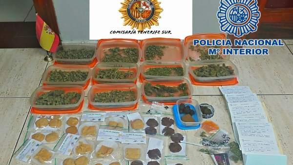 Nota De Prensa 'La Policía Nacional Interviene Gran Cantidad De Marihuana Con La