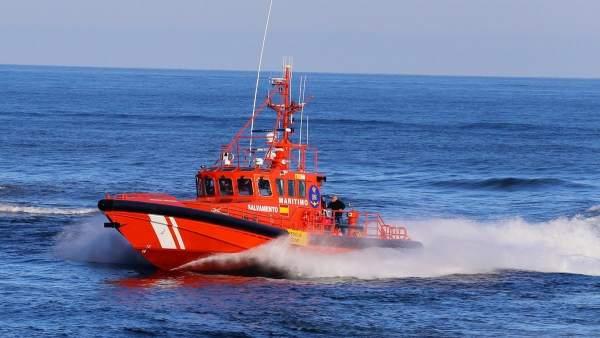 Salvamar Arcturus en labores de rescate