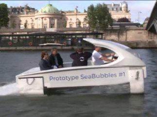 Taxi acuático en el Sena
