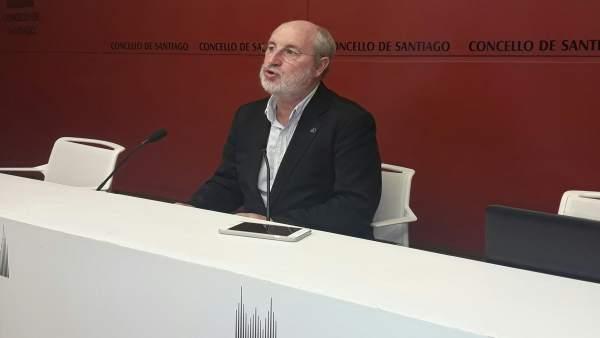 Manuel Dios, concejal de Educación de Santiago de Compostela