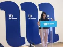 La diputada de En Marea, Paula Vázquez Verao, en el Parlamento