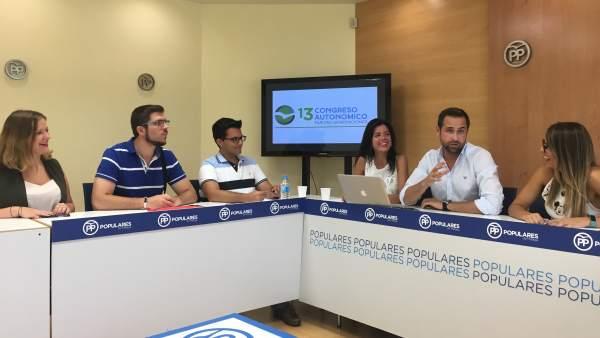 Reunión Nuevas Generaciones Málaga