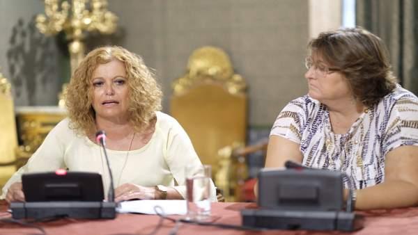 La concejala Adela Castaño