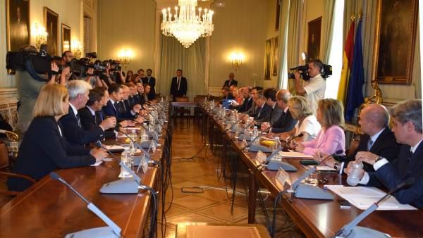 Reunión de delegados del Gobierno en el Ministerio del INterior.