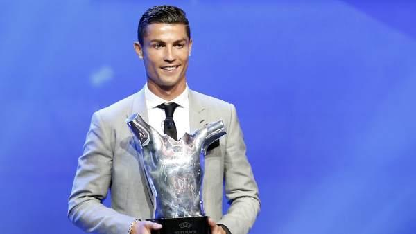 Cristiano Ronaldo, mejor jugador de Europa