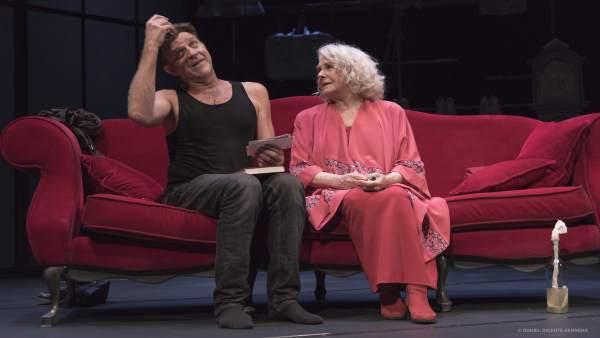 Juanjo Artero y Lola Herrera protagonizan 'La velocidad del otoño'