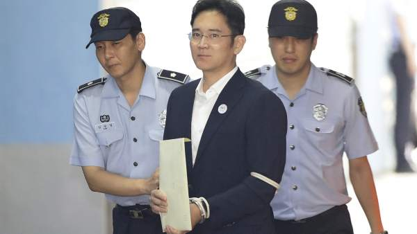 Lee Jae-yong, heredero de Samsung