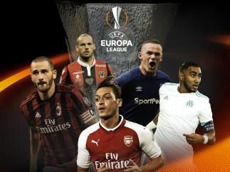 Jugadores participantes de la Europa League 2017