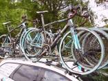 Así se lleva una bicicleta en el coche