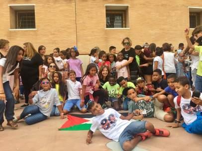 Nt Y Fotos Despedida Niños Saharauis