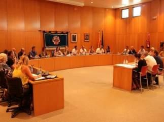 Pleno del Ayuntamiento de Cambrils