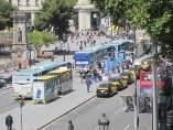 Aerobus, autobuses al Aeropuerto de Barcelona.