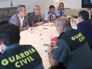 Mossos y Guardia Civil